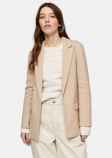 Topshop Slouchy Double Breasted Blazer