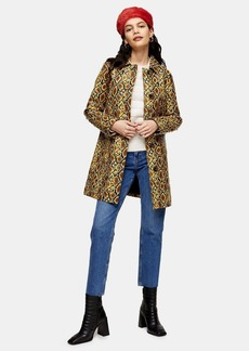 Topshop Snake Car Coat