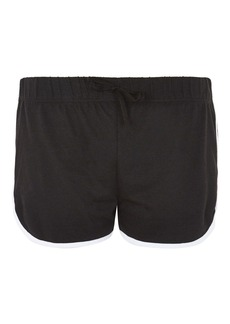 Topshop Sporty Solid Runner Shorts