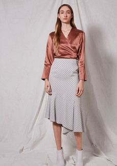 Spot Frill Skirt By Boutique