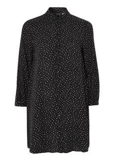 Topshop Star Print Swing Shirt Dress