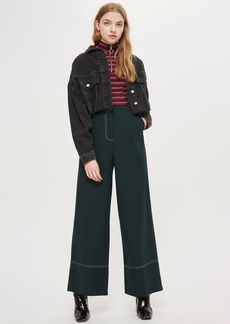 Stitch Wide Leg Pants
