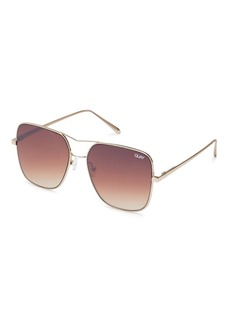 Topshop Stop And Stare Sunglasses By Quay Australia