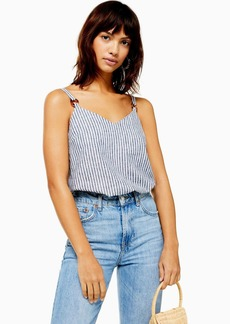 Topshop Stripe Cami Top