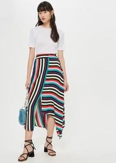 c908e472c0 Topshop Topshop Python Print Pleat Midi Skirt | Skirts