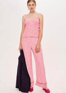 Topshop Sugar Spotted Trousers