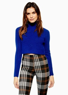 d3b84370c5df27 On Sale today! Topshop Topshop Mo Seam Detail Popper Sweater