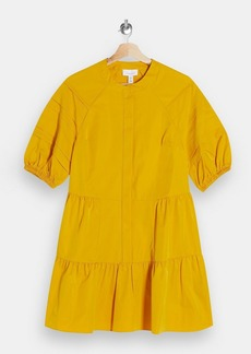 Topshop Taffeta Shirt Dress