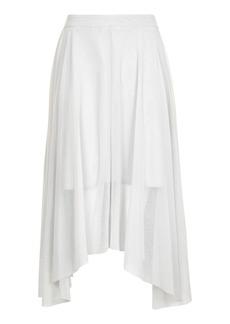 Tall Assymetric Midi Skirt