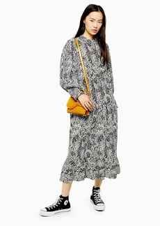 Topshop Tall Bell Sleeve Chuck On Dress