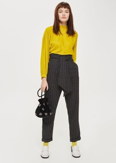 Tall Checked Belted Mensy Pants