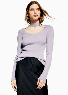 Topshop Tall Choker Top