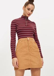 Tall Cord High Waisted Skirt