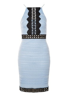 Topshop Tall Crochet Lace Bodycon Dress