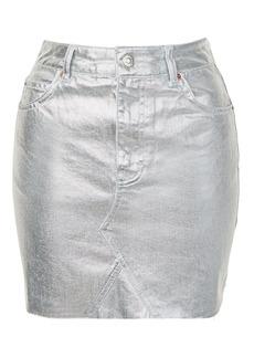 Tall High Waisted Denim Skirt