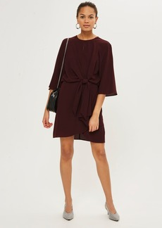 Tall Knot Front Wrap Dress