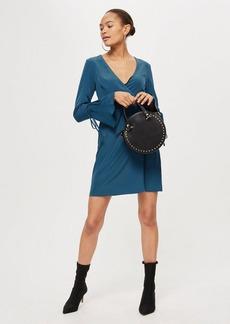 Topshop Tall Mini Wrap Dress
