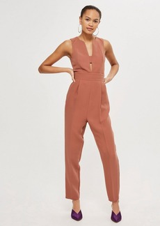 Topshop Tall Open Front Jumpsuit