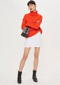 Topshop Tall Pocket A Line Skirt