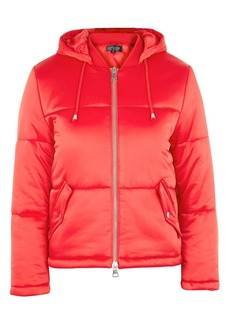 Topshop Tall Quilted Puffer Jacket