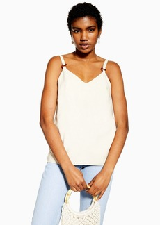 Topshop Tall Ring Detail Cami