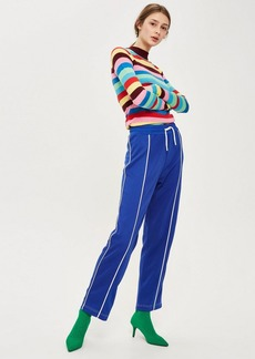 Topshop Tall Seam Front Track Pants