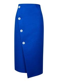 Tall Statement Button Midi Skirt
