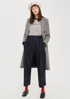 Tall Topstitch Wide Leg Pants
