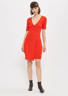 Topshop Tall Wrap Ponte Dress
