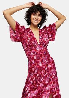 Topshop Tallaurelia Midi Dress