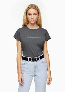 Topshop Talllive For Now Tee