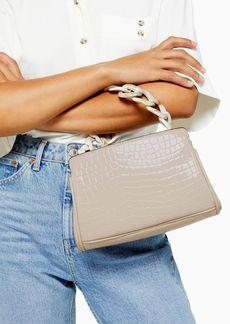 Topshop Tamara Acrylic Chain Mini Grab Bag