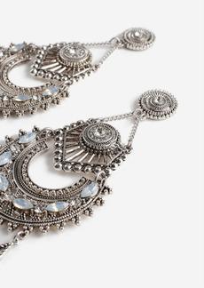 Topshop Tassel Chandelier Earrings