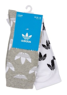 Topshop Thin Crew Socks Multipack By Adidas Originals