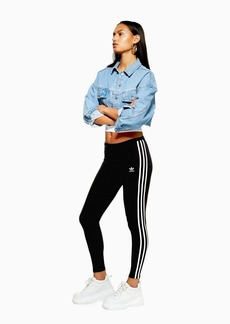 Three Stripe Leggings By Adidas Originals
