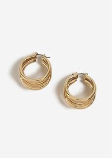 Topshop Three Tube Hoop Earrings