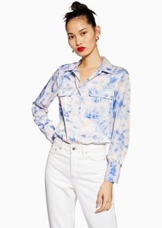 Topshop Tie Dye Shirt