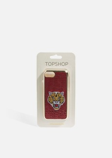 Topshop Tiger Embroidered Phone Case