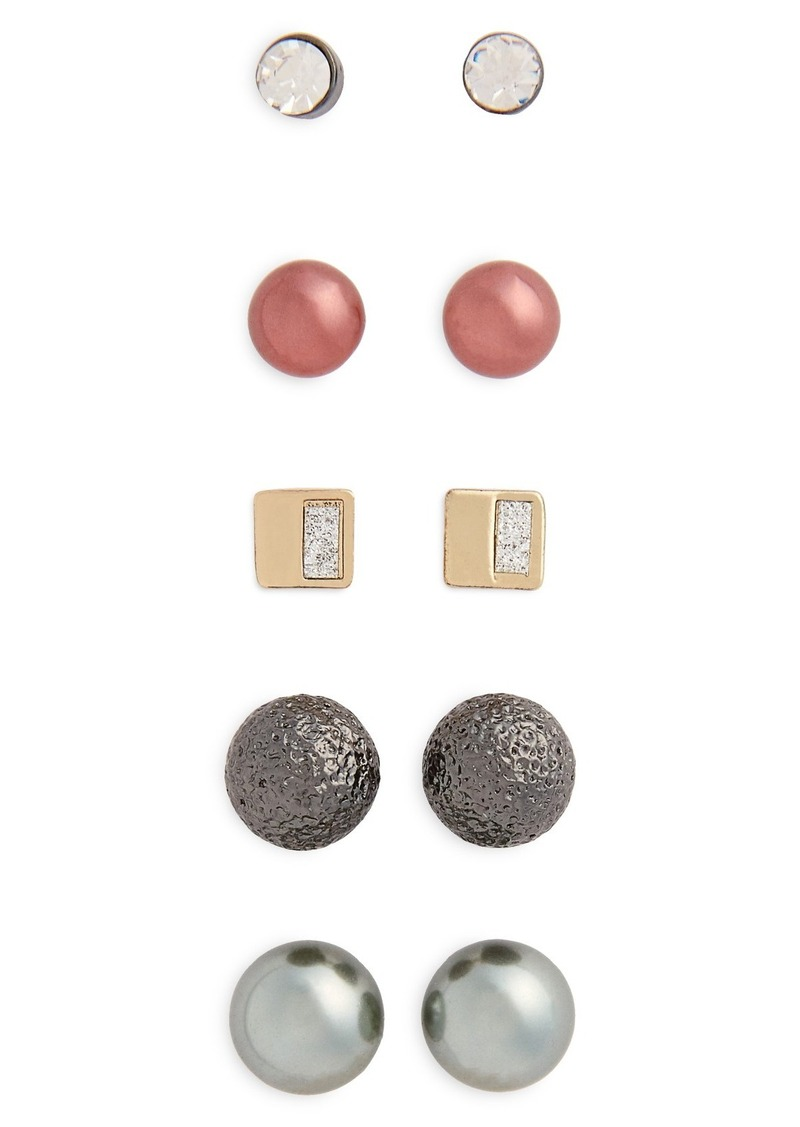Topshop 6-Pack Stud Earrings
