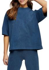 Topshop Acid Wash Oversize T-Shirt (Petite)