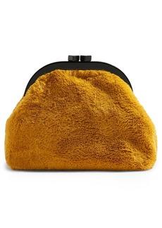 Topshop Alexa Faux Fur Pouch
