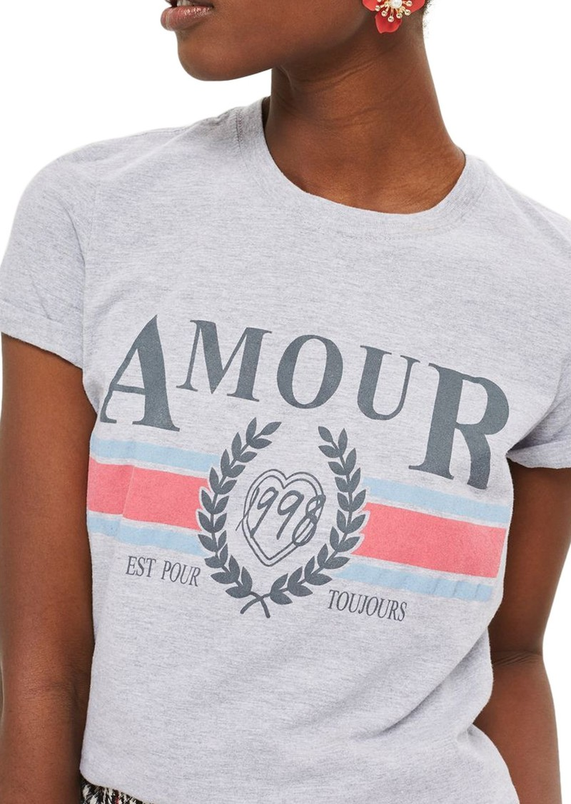 41673734e Topshop Topshop Amour Graphic Tee | Casual Shirts