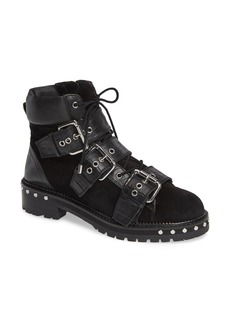 Topshop Animal Studded Boot (Women)