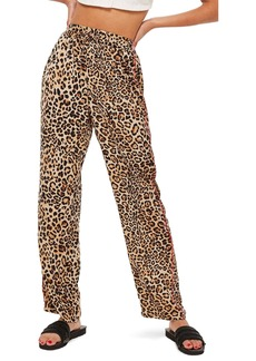 Topshop Animal Track Pants