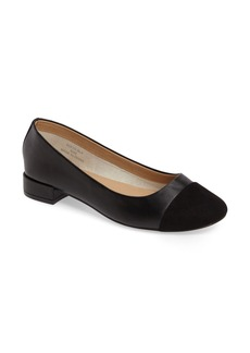 Topshop Annabel Cap Toe Pump (Women)