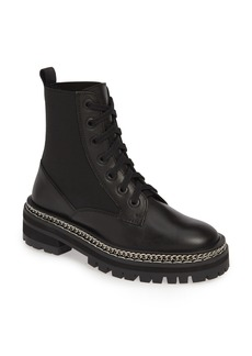 Topshop Ashton Chain Moto Boot (Women)