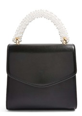 Topshop Aurora Imitation Pearl Faux Leather Handbag