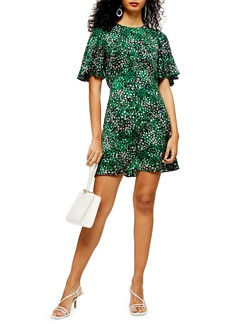 Topshop Austin Print Minidress