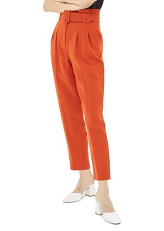 Topshop Ayla Belted Peg Trousers