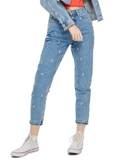 Topshop Babe Mom Jeans (Mid Denim)